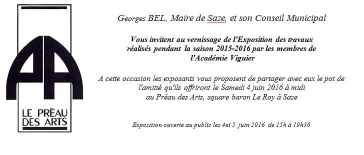 une invitation 2016